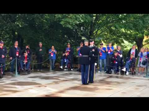 Tomb of the Unknown Soldier, changing of the guard.