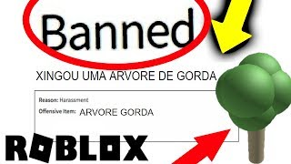 SHE SWORE a ARVOREEE!!! In ROBLOX and WAS BANNED!!!