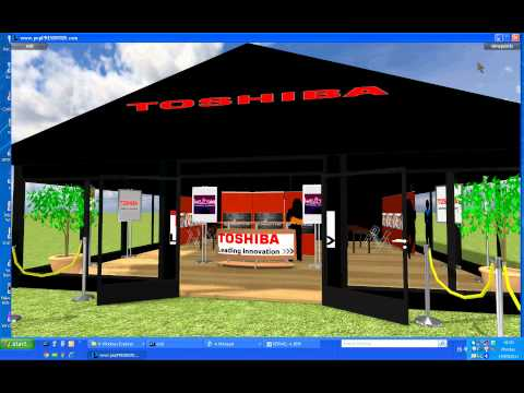Corporate sponsorship marquee at a sporting event -3D CAD virtual tour mockup presentation