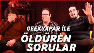 GEEKYAPAR! ile Öldüren Sorular #8 | Batman v Superman mi? Suicide Squad mı?