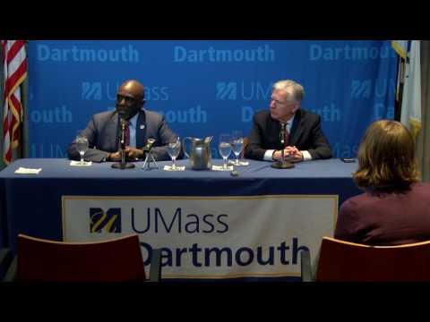 Newly Appointed UMass Dartmouth Chancellor Robert E. Johnson