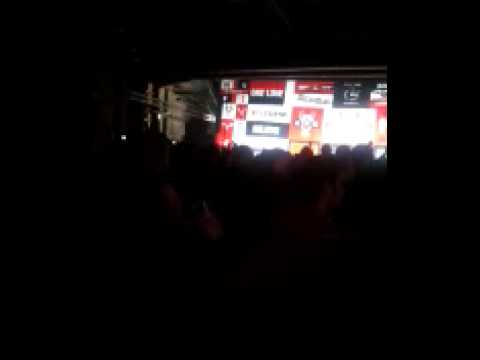 20 times 20 times Man United song from Red Square