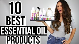 10 BEST ESSENTIAL OIL PRODUCTS!
