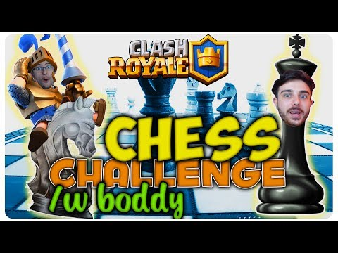 Jucam Șah in Clash Royale | Chess Challenge /w Boddy