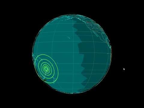EQ3D ALERT: 10/31/17 - 6.8 magnitude earthquake in the South Pacific Ocean