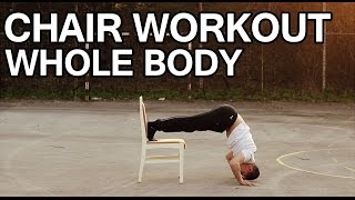 Chair Workout - Whole Body - Bar Connection