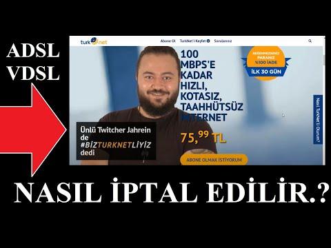 Turknet iptali nasıl yapılır