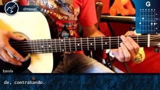 """Cómo tocar """"Cielito Lindo""""  en Guitarra Acústica (HD) Acordes - Christianvib"""
