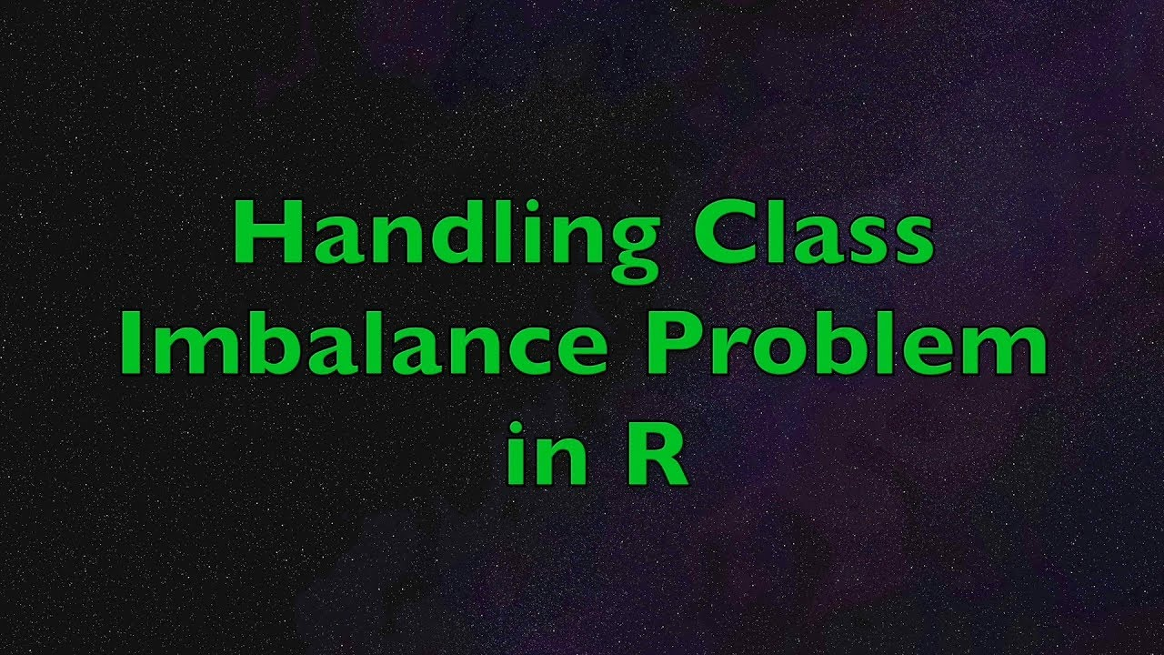 Handling Class Imbalance Problem in R: Improving Predictive Model  Performance