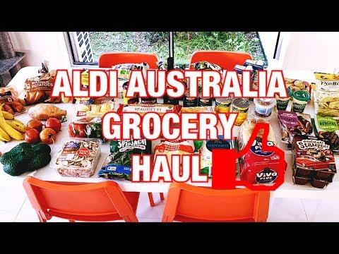 ALDI AUSTRALIA GROCERY HAUL 🌽
