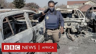 South Africa deploys military to tackle Zuma protests - BBC Africa