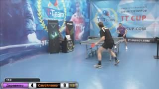 Деревянко - Самойленко. 8 января 2017 TT Cup