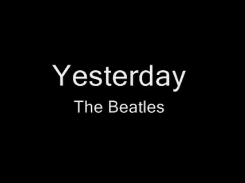 Yesterday • The Beatles • Original • 1965