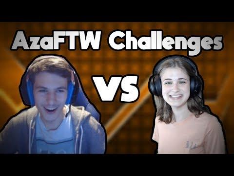 AZAFTW CHALLENGES ~ AzaFTW Vs. GD Juniper