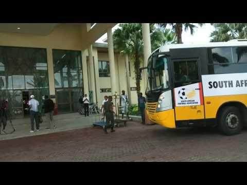South Africa arrive Uyo hotel