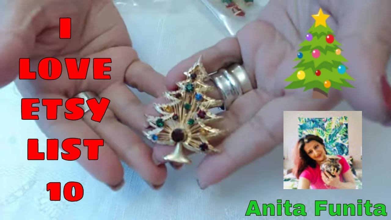 I Love Etsy, List 10 Series, What's selling! Episode 23 Holiday Vintage Beauties