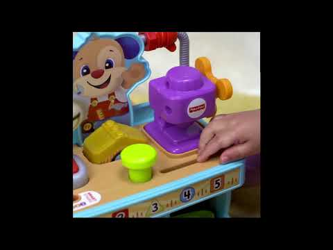 Fisher-Price Laugh & Learn Busy Learning Tool Bench- Smyths Toys