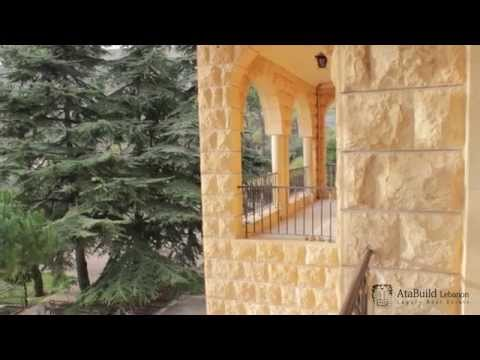 AtaBuild Lebanon Luxury Real Estate - Luxury Villa in Mount Lebanon Aindara