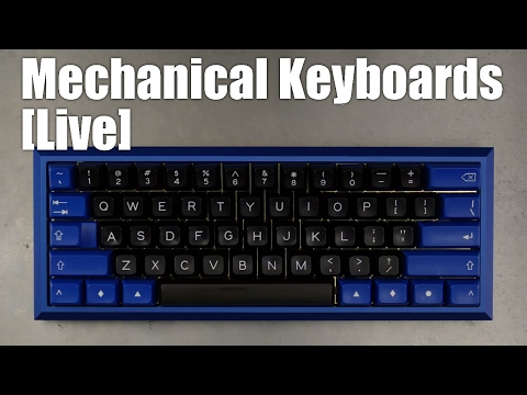 Mechanical Keyboards Live! - BUILD 60% Fjell in 4K