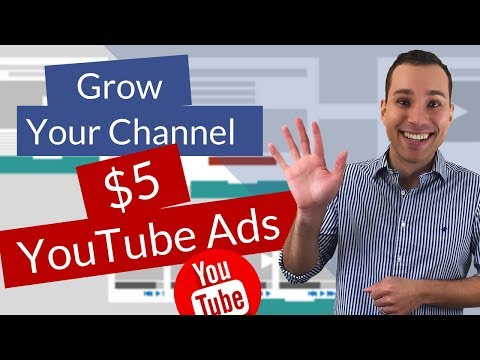 $5 YouTube Ads - Accelecerate Channel Growth with $5 a Day YouTube Ads