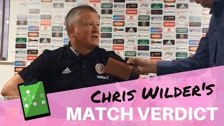 Sheffield United 2 Norwich City 1 ¦ Chris Wilder reaction