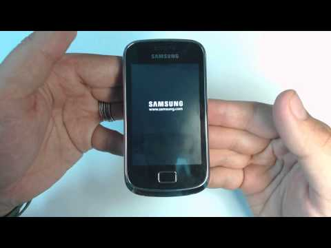 Samsung Galaxy mini 2 S6500D - How to put phone in download mode