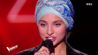 Une voix angélique de Mennel d'origine syrienne dans The voice France - Helleluyah Cover