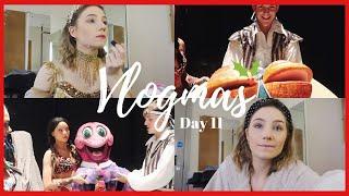 GOING SIDE STAGE! | VLOGMAS DAY 11 | Georgie Ashford