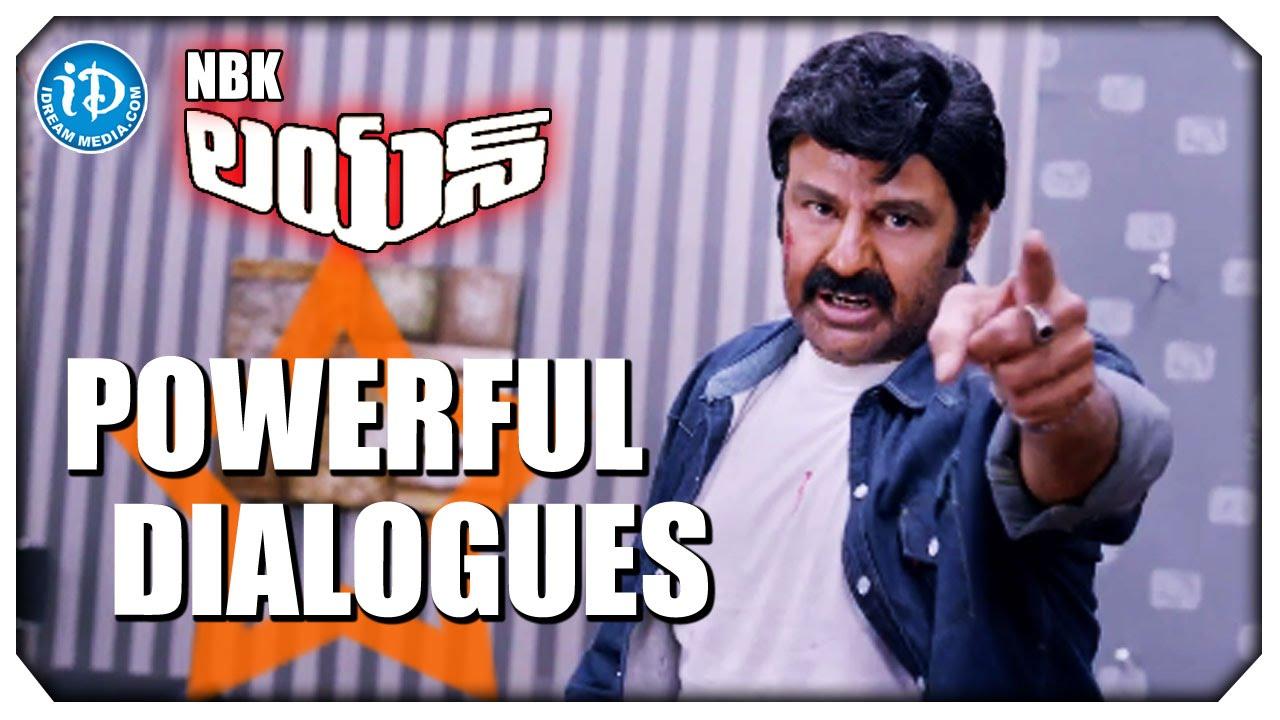 Balakrishna's legend movie powerful dialogue.