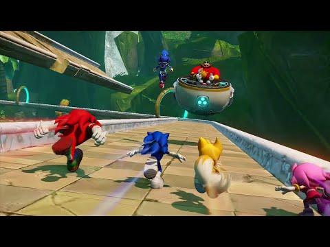 Let's Play Sonic Boom [Coop] Partie 1 : Quatre Mobiens d'enfer dans la jungle