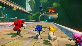 Let's Play Sonic Boom [Coop] Partie 1 : Quatre Mobiens d'enfer dans la jungle