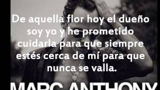 Marc anthony Flor palida letra