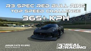 Real Racing 3 R3 Spec Red Bull Ring Top Speed Challenge 365+ kph RR3