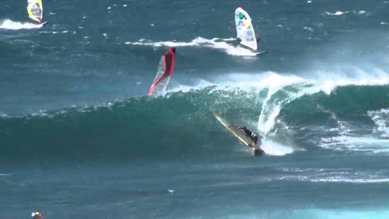 Hookipa Beach Windsurfing On Maui