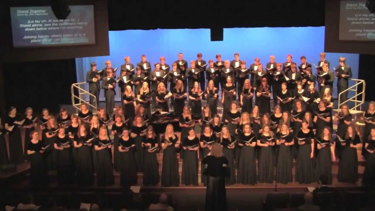 Download Stand together (Jim Papoulis) - Youth Chorale of Central Minnesota Combined Ensembles