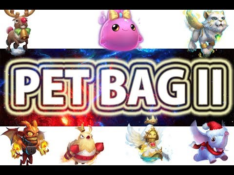 Opening [ PET BAG II ] Worth It ? | Castle Clash😱😱