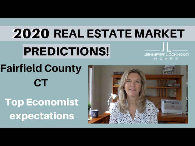 Fairfield County CT Real Estate Market Predictions for 2020 including the Home Buyers profile update