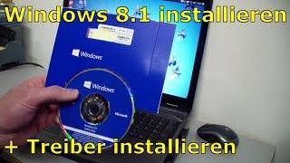 Windows 8.1 optimal installieren, aktivieren und unbekannte Treiber finden und installieren.