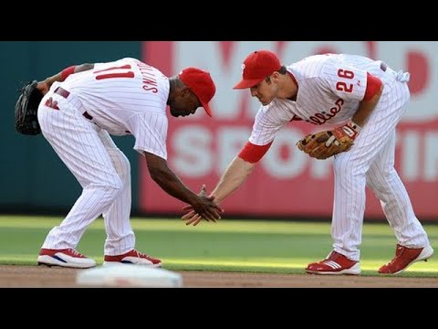 Jimmy Rollins And Chase Utley   Double Play Supercut