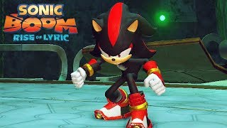 Sonic Boom Rise of Lyric [2014] - Abandoned Research Facility @ Nintendo WiiU #3