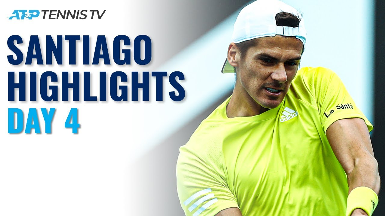 Top Seed Garin Kicks off Campaign; Andujar and Coria in Action | Santiago 2021 Day 4 Highlights