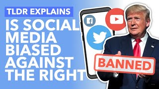 Are Conservatives Silenced By Social Media? Trump's Twitter, Shadow Bans & Algorithms - TLDR News