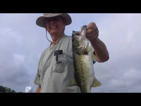 Frank Chandler & Vic Chandler fishing  --  Eagle Lake Fl -- May 2016