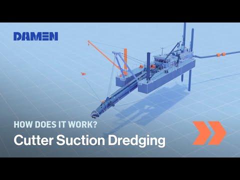 How Cutter Suction Dredging works | Damen Shipyards