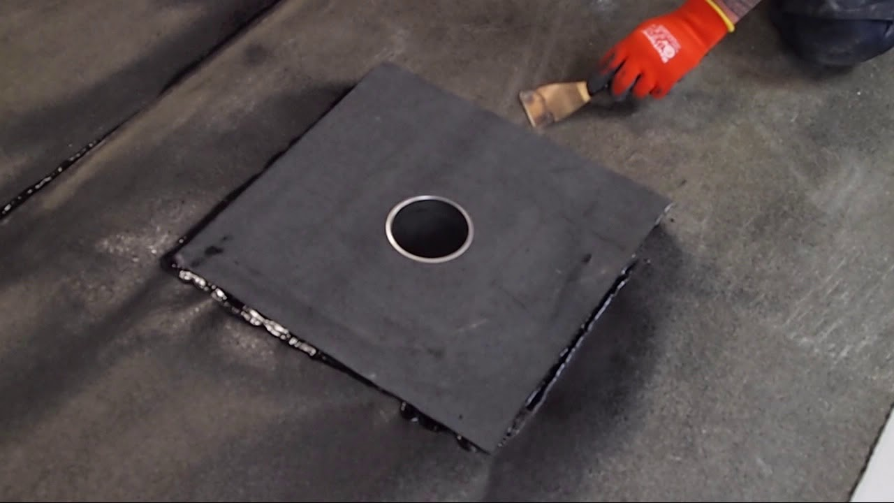 Prodrain Flat Roof Drainage Outlet Installation Video