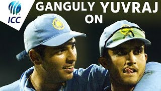 Sourav Ganguly Pays Tribute To Yuvraj Singh - Including 6 Sixes Against Broad! | #ThankYouYuvi