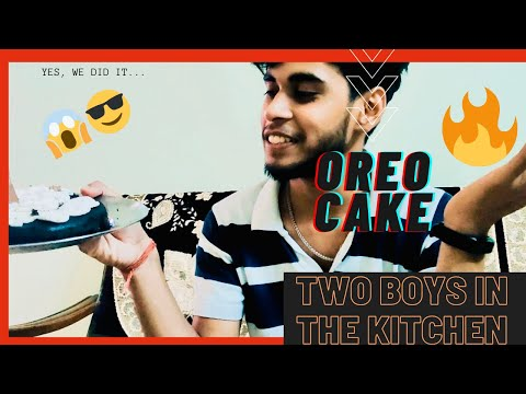 FIRST TIME IN THE KITCHEN || OREO CAKE🤤 || HOW TO MAKE OREO CAKE AT HOME…😎 #PERFECT #QUARANTINE