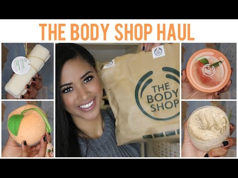 The Body Shop Haul ♡ Skincare & Bodycare ♥