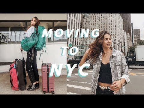 I MOVED TO NYC ON MY OWN | Moving Vlog & How I Did It!