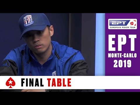 PokerStars & Monte-Carlo Casino EPT 2019 – Main Event – Final Table Part 2